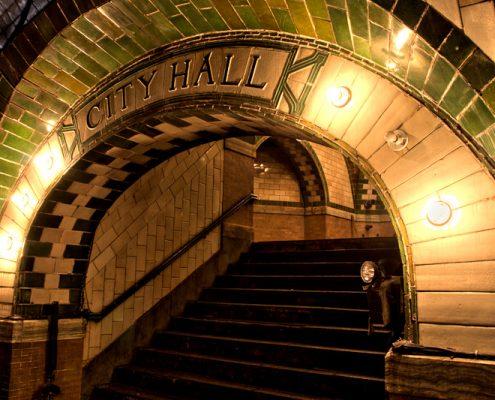 Acceso City Hall subway New York